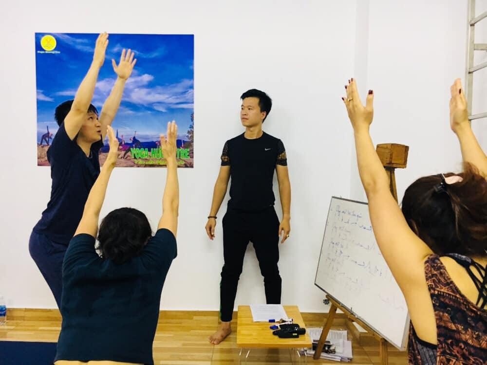 Lớp Yoga giành cho giáo viên Yoga