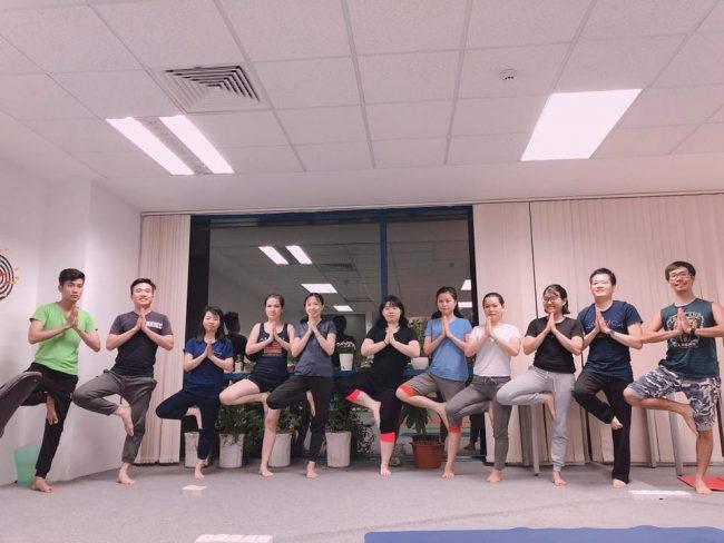 Yoga – giải pháp sức khỏe cho nhân viên